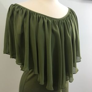 Venus Green Blouse